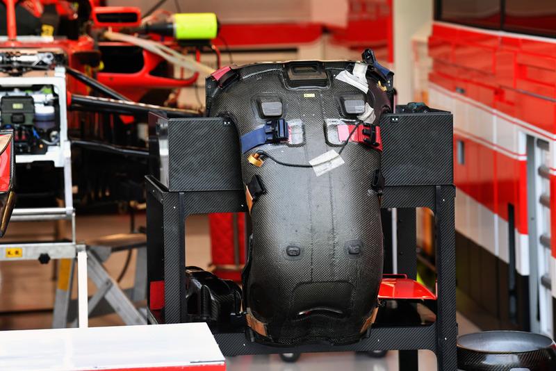 Ferrari SF71H seat