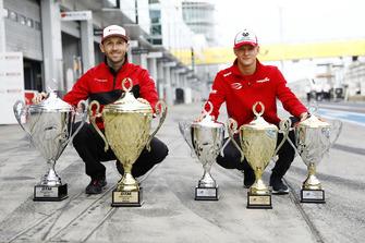 René Rast, Audi Sport Team Rosberg and Mick Schumacher, PREMA Theodore Racing Dallara F317 - Mercedes-Benz
