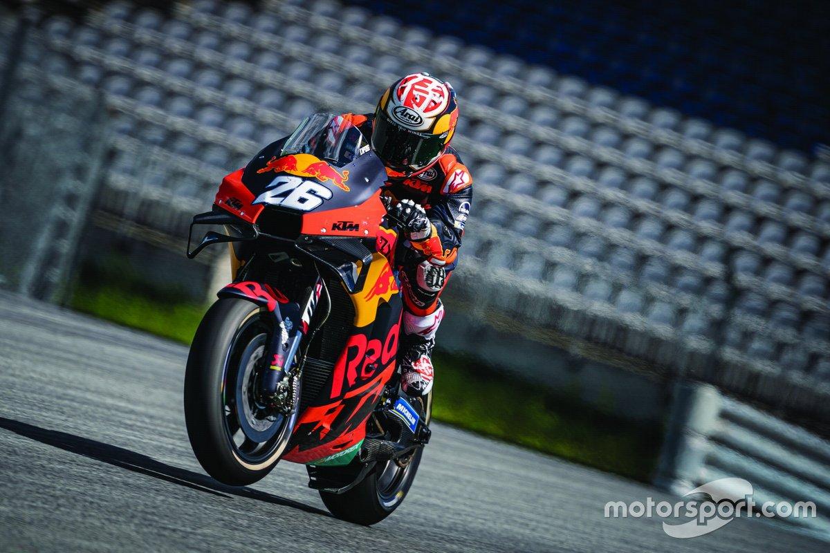 KTM May testing