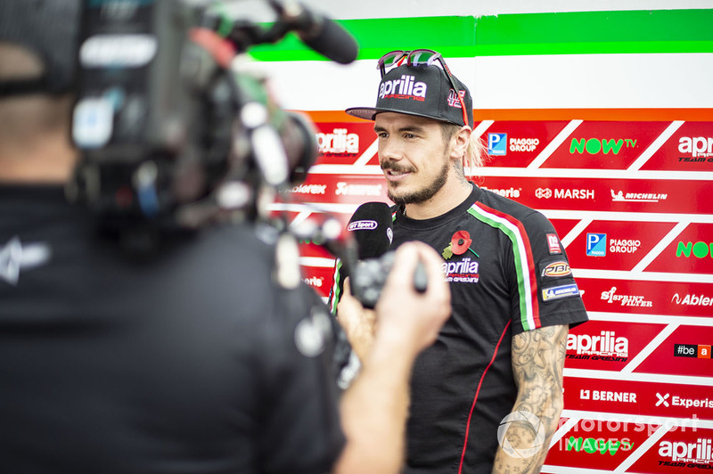 Scott Redding, Aprilia Racing Team Gresini, TV