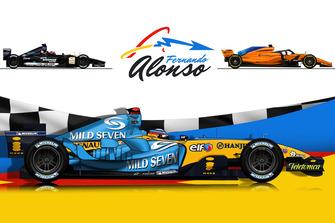 Les F1 de Fernando Alonso