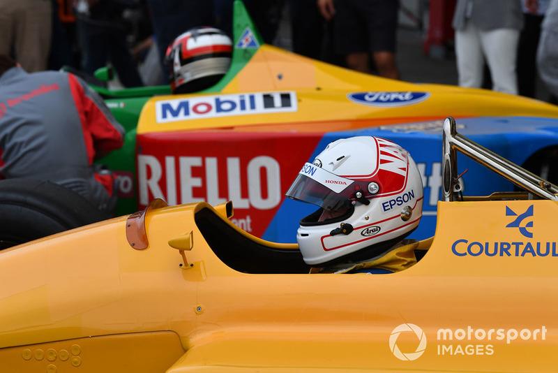 Сатору Накаджима, Lotus, Legends F1 30th Anniversary Lap Demonstration