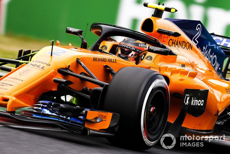 19: Stoffel Vandoorne, McLaren MCL33, 1:31.041