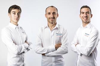 George Russell, Robert Kubica, Nicholas Latifi, Williams Martini Racing