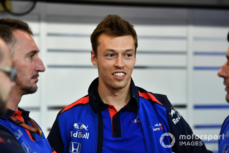 #26 Daniil Kvyat, Toro Rosso (Vuelve a la F1 desde mediados de 2017)