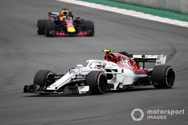 9: Charles Leclerc, Sauber C37, 1:16.189