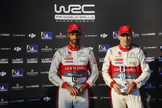 Пилоты Citroën World Rally Team Халид Аль-Кассими и Крейг Брин