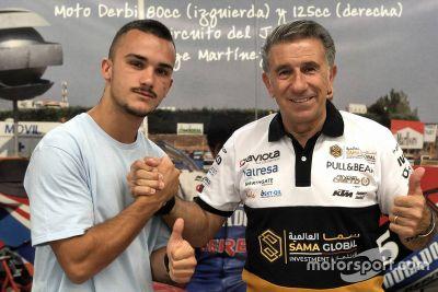 Aron Canet, Ángel Nieto anuncio