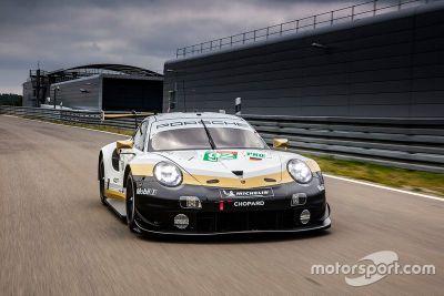 Presentazione della livrea Porsche