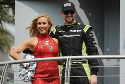 Чарли Кимболл, Chip Ganassi Racing Chevrolet и черлидерша