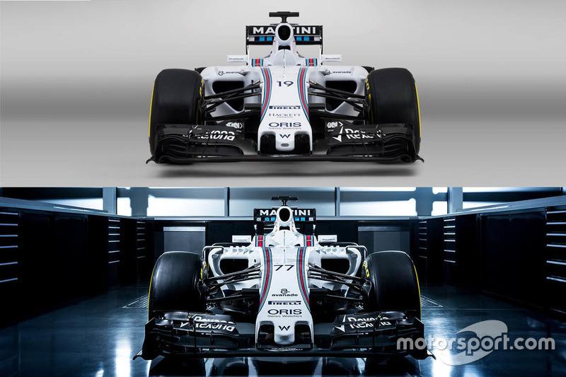 Vergleich: Williams FW37 und FW38