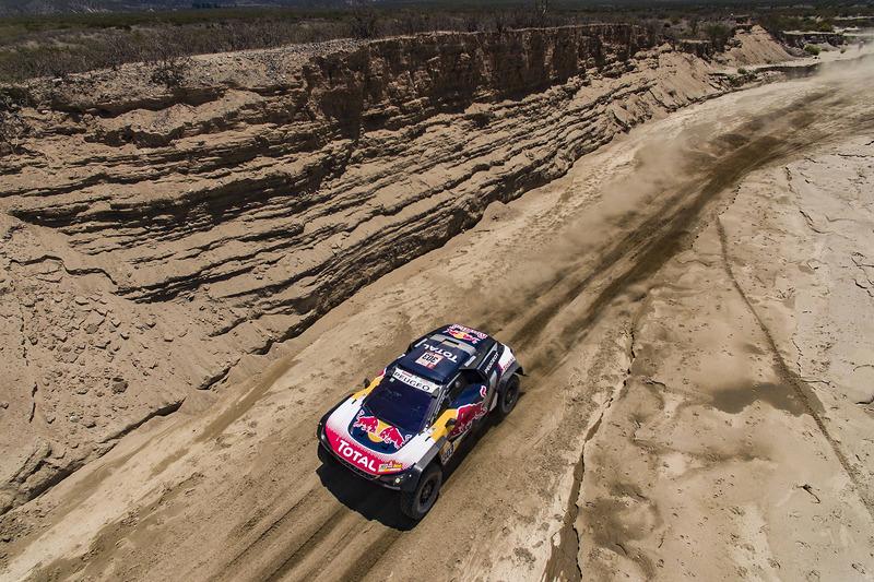 10. #303 Peugeot Sport Peugeot 3008 DKR: Карлос Сайнс, Лукас Крус