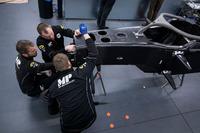 MP Motorsport F2, detalle delantero del auto