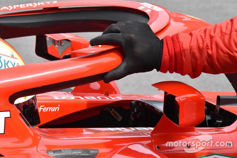 Ferrari SF71H ayna detay
