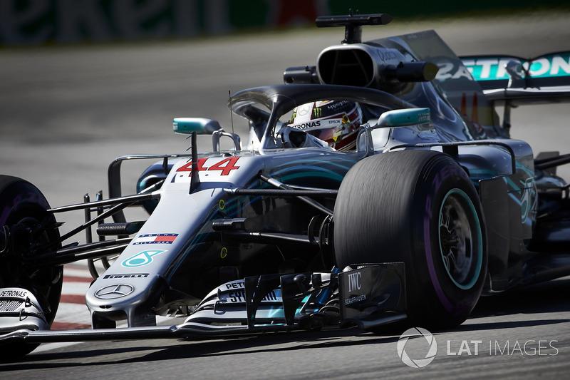 4. Lewis Hamilton, Mercedes AMG F1 W09