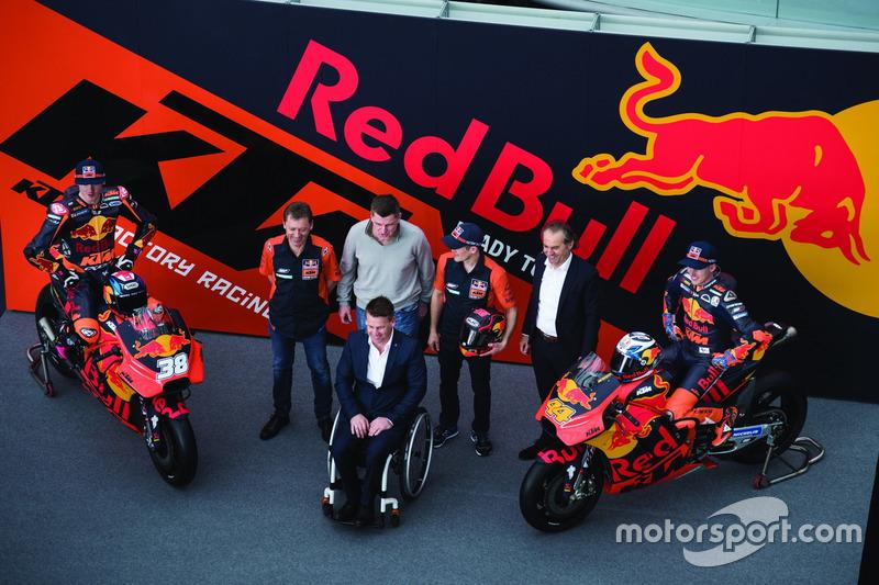 Groepsfoto KTM MotoGP
