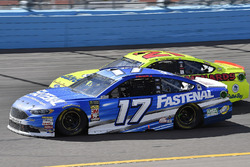Ricky Stenhouse Jr., Roush Fenway Racing, Ford Fusion Fastenal, Paul Menard, Wood Brothers Racing, Ford Fusion Menards / Dutch Boy