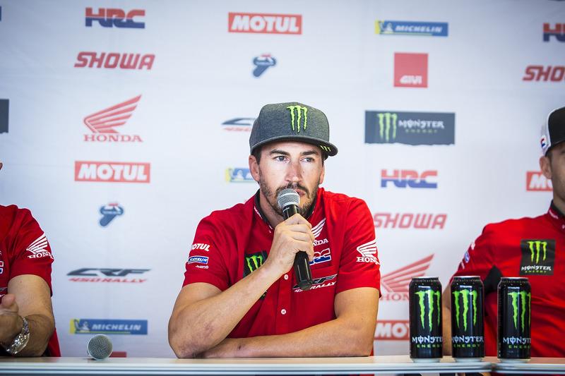 Presentación Monster Energy Honda Team