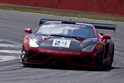 #24 Reiter Young Stars Lamborghini Gallardo R-EX: Lenny Marioneck, Mads Siljehaug, Patric Niederhauser