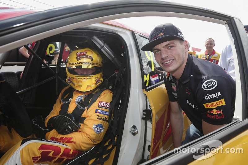 Tom Coronel, Boutsen Ginion Racing Honda Civic Type R TCR, és Max Verstappen
