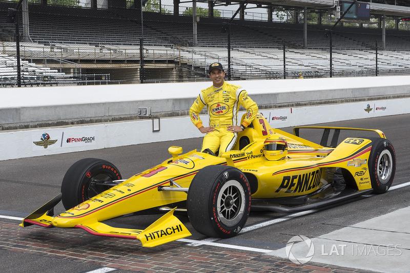 8. Helio Castroneves, Team Penske, Chevrolet