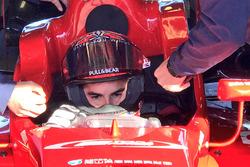 Marc Márquez teste une voiture de F3