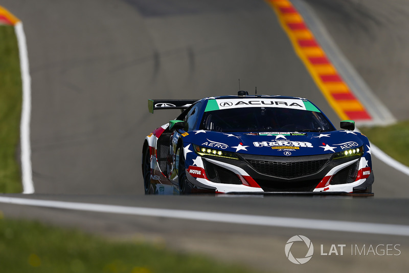 #69 HART Acura NSX GT3, GTD: Chad Gilsinger, Ryan Eversley, Tom Dyer
