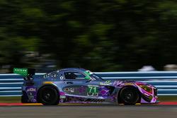 #71 P1 Motorsports Mercedes-AMG GT3, GTD: JC Perez, Loris Spinelli, Adam Christodoulou