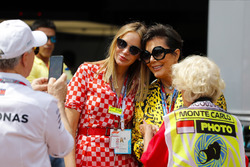 Dee Ocleppo, wife of Tommy Hilfiger, has her picture taken with reality TV personality Kris Jenner by Tommy Hilfiger