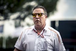 Зак Браун, виконавчий директор McLaren Racing