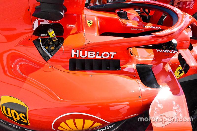 Sidepods Ferrari