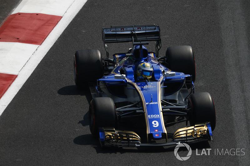 12º Marcus Ericsson, Sauber C36