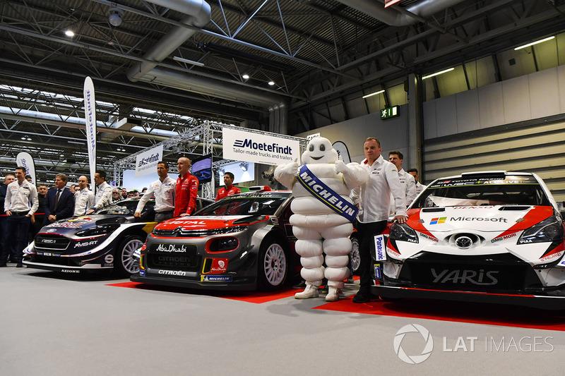 Presentación coches WRC
