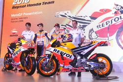 Марк Маркес, Дані Педроса, Repsol Honda Team, керівник Repsol Honda Альберто Пуч