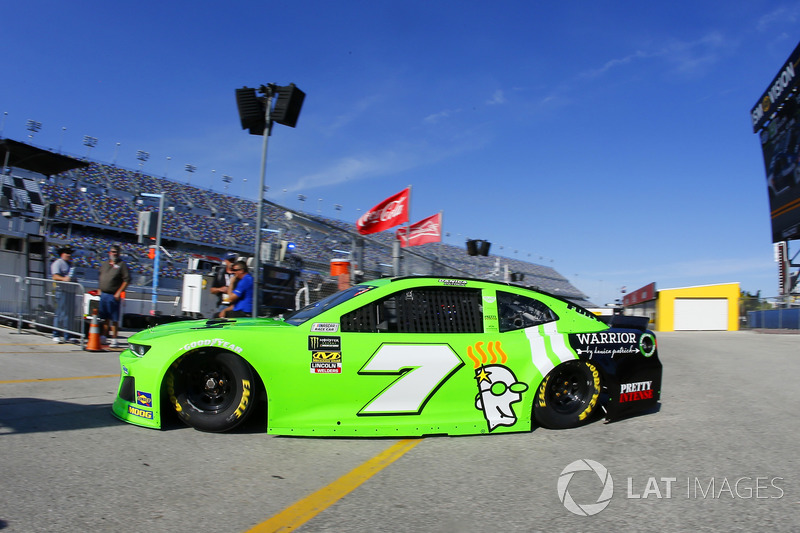 Back in green for the 'Danica Double'