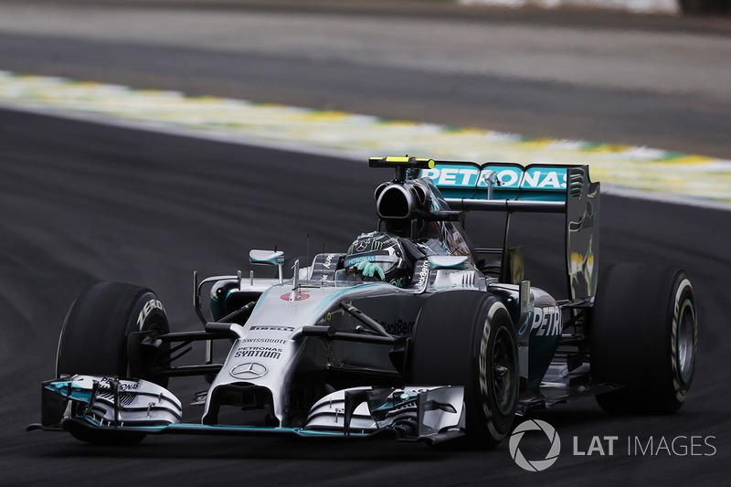 13º Nico Rosberg - 17 corridas - De Bélgica 2013 até Áustria 2014 - Mercedes