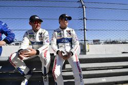 #66 Chip Ganassi Racing Ford GT, GTLM: Joey Hand, #67 Chip Ganassi Racing Ford GT, GTLM: Scott Dixon