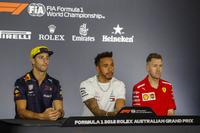Даніель Ріккардо, Red Bull Racing, Льюіс Хемілтон, Mercedes AMG F1, Себастьян Феттель, Ferrari