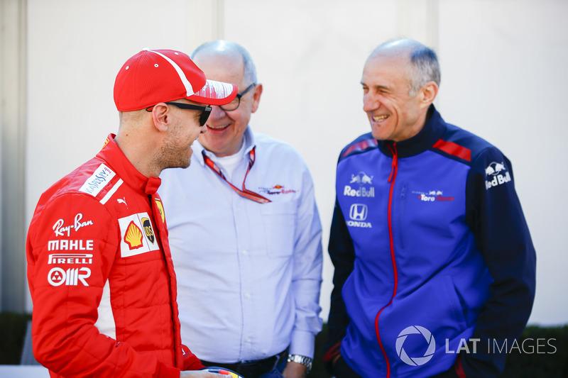 Sebastian Vettel, Ferrari ve Franz Tost, Takım Patronu, Toro Rosso