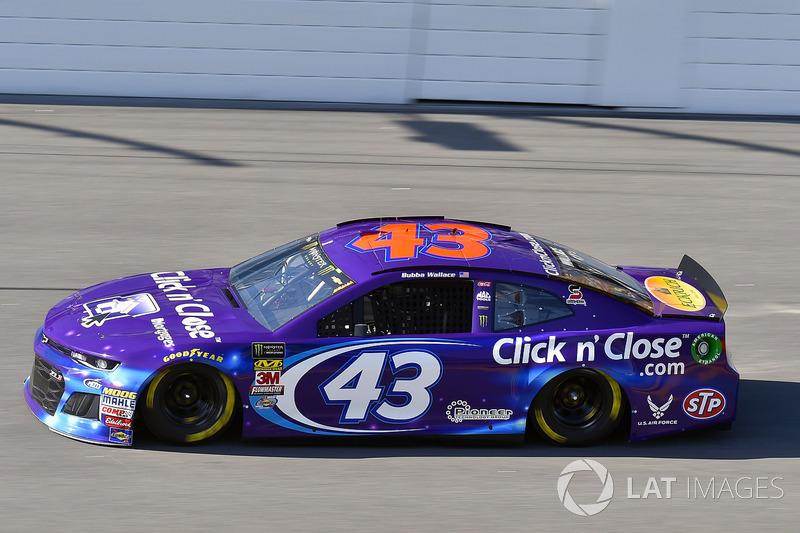 7. Darrell Wallace Jr., No. 43 Richard Petty Motorsports Chevrolet Camaro