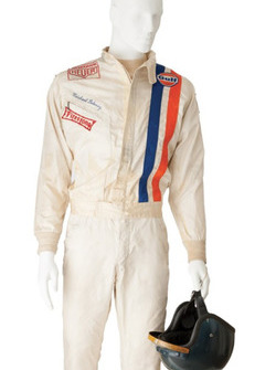 Steve McQueen'in Le Mans filminden kask ve tulumu