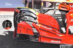 Ferrari SF71H comparison