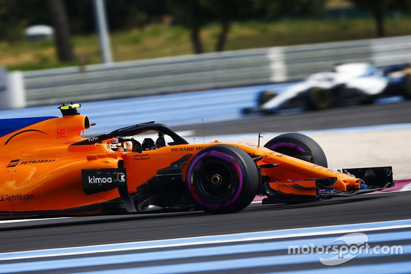 P12: Stoffel Vandoorne, McLaren MCL33