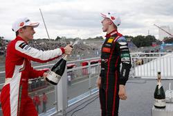Podium: Jüri Vips, Motopark Dallara F317 - Volkswagen, Marcus Armstrong, PREMA Theodore Racing Dallara F317 - Mercedes-Benz