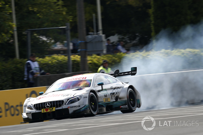 13. Pascal Wehrlein, Mercedes-AMG Team HWA, Mercedes-AMG C63 DTM