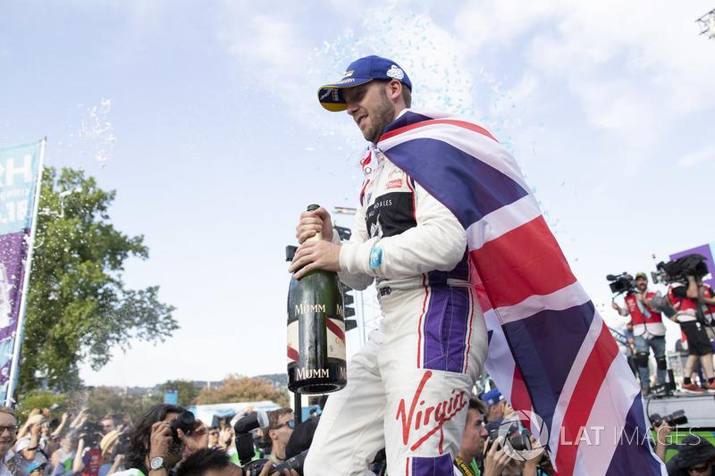 Sam Bird, DS Virgin Racing, places second