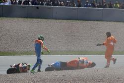 Lorenzo Baldassarri, Pons HP40 crash