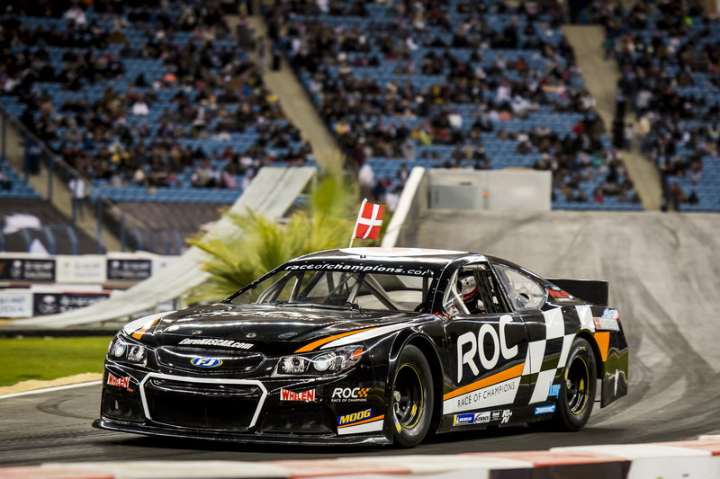 Tom Kristensen del equipo Nórdico en el Whelen NASCAR