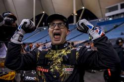 Petter Solberg fête son résultat