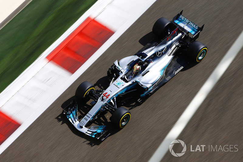 Mercedes W08 EQ Power+ (2017)